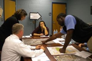 Identifying needs during team meeting