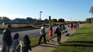 Walk to School, Rockburn ES, 10.8.14